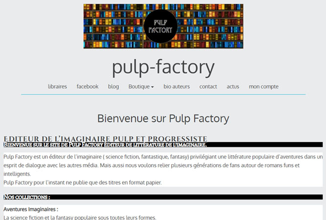 Pulp Facotory